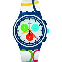 Swatch Originals Chrono Rio All Around Unisexuhr in Mehrfarbig SUSN100 von Swatch