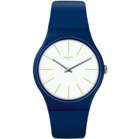 Swatch Originals New Gent Bluesounds Unisexuhr in Blau SUON127 von Swatch