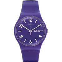 Swatch Originals New Gent New Gent - Backup Purple Unisexuhr in Lila SUOV703 von Swatch
