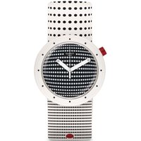Swatch Originals Pop Dotypop Unisexuhr in Zweifarbig PNW104 von Swatch