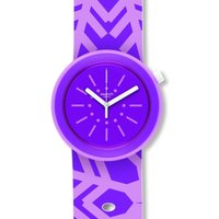 Swatch Originals Pop Flocpop Unisexuhr in Lila PNP102 von Swatch