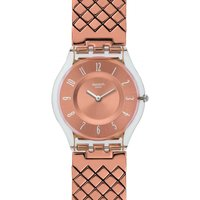 Swatch Skin Classic Pink Cushion Damenuhr in Rosa SFE110GB von Swatch