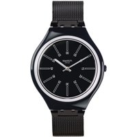 Swatch Skin Medium Skinotte Herrenuhr in Schwarz SVOB100M von Swatch