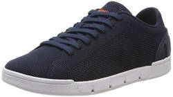 SWIMS Damen Women Breeze Tennis Knit Sneaker, Blau (Navy 002), 37 EU von SWIMS