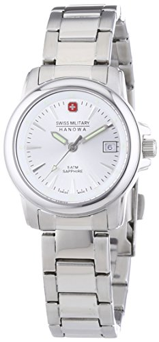Swiss Military Hanowa Damen-Armbanduhr XS Swiss Recruit Lady Prime Analog Quarz Edelstahl 06-7230.04.001 von Swiss Military Hanowa