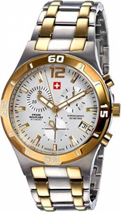 Swiss Military SM34015.04 Chronograph 43mm 10ATM von SWISS MILITARY