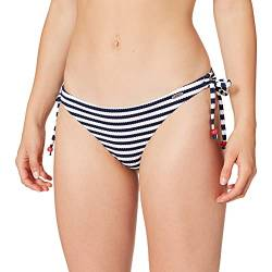 Sylvie Flirty Swimwear Damen Bikinihose Bayina, Blau (Navy/White Stripes 0005), 36 von Sylvie Flirty Swimwear