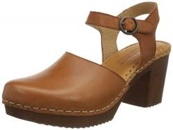TEN POINTS Damen Amelia Clogs, Braun (Cognac 319), 38 EU von TEN POINTS