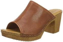 TEN POINTS Damen Amelia Plateausandalen, Braun (Cognac 319), 38 EU von TEN POINTS