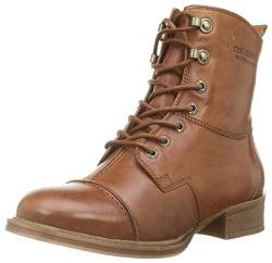 Ten Points Damen Pandora Stiefelette, Cognac, 39 EU von TEN POINTS