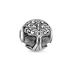 THOMAS SABO Damen Bead Tree of Love 925er Sterlingsilber, Geschwärzt K0320-637-21 von THOMAS SABO