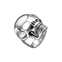 THOMAS SABO Herren-Ring Rebel at Heart Totenkopf 925 Silber Gr. 56 (17.8) - TR1704-001-12-56 von THOMAS SABO
