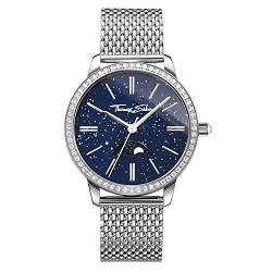 Thomas Sabo Damen-Armbanduhr Glam Spirit Moonphase blau Analog Quarz WA0326-201-209-33 mm von THOMAS SABO