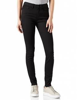 TOM TAILOR Denim Damen Nela Extra Skinny Jeans, Black denim Schwarz, 31W / 32L von TOM TAILOR Denim