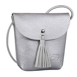 Tom Tailor Denim Damen Ida Henkeltasche, Silber (Silber), 4.5x16x17 cm von TOM TAILOR Denim