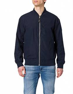 TOM TAILOR Denim Herren 1024397 Bomber Jacke, Sky Captain Blue, S von TOM TAILOR Denim