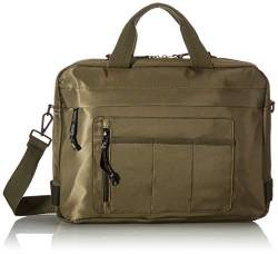 TOM TAILOR Denim Herren Tacoma Business Bag, Khaki, L von TOM TAILOR Denim