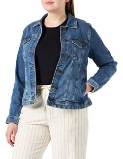 TOM TAILOR MY TRUE ME Damen Jeansjacke, 10110-Blue Denim, 48 von TOM TAILOR MY TRUE ME