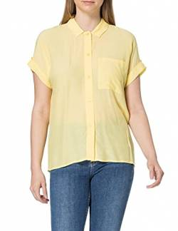 TOM TAILOR mine to five Damen 1025581 Loose Bluse, 26459-Mellow Yellow, 42 von TOM TAILOR mine to five