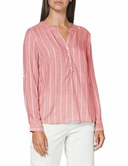 TOM TAILOR Dobby Struktur Bluse, Damen, Rosa 44 EU von TOM TAILOR