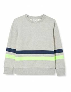 TOM TAILOR Baby-Jungen Sweatshirt T-Shirt, Drizzle Melange|Gray, 92/98 von TOM TAILOR
