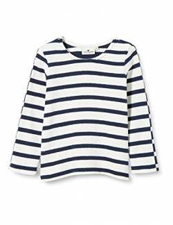 TOM TAILOR Baby-Jungen Sweatshirt T-Shirt, y/d Stripe|Multicolored, 68 von TOM TAILOR