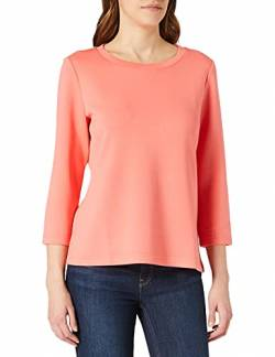 TOM TAILOR Damen 1023983 Crewneck Sweatshirt, Strong Peach Tone, L von TOM TAILOR