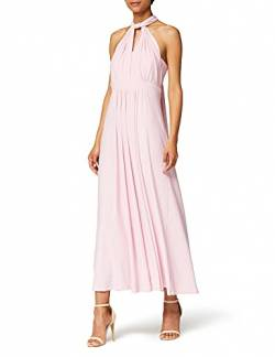 Amazon-Marke: TRUTH & FABLE Damen Maxi A-Linien-Kleid, Rosa (Bridal Rose), 40, Label:L von TRUTH & FABLE