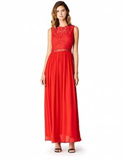 TRUTH & FABLE JCM-36282 brautkleid, Rot (Red), 36 (Herstellergröße: Small) von TRUTH & FABLE