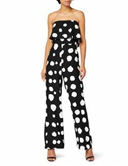TRUTH & FABLE Spot Bardot Jumpsuit, Mehrfarbig (Multi Colour), Large von TRUTH & FABLE