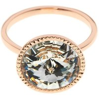 Damen Ted Baker Rada Rivoli Crystal Ring ML rosévergoldet TBJ1159-24-23ML von Ted Baker Jewellery