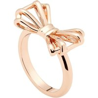 Damen Ted Baker Sweetie Bow Ring Size ML rosévergoldet TBJ1379-24-03ML von Ted Baker Jewellery