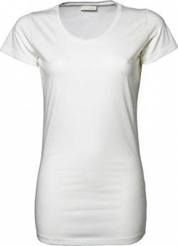 Ladies Stretch Tee Extra Long von Tee Jays