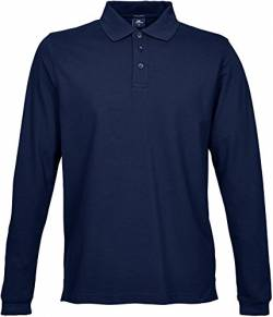 Mens Stretch Long Sleeve Polo von Tee Jays