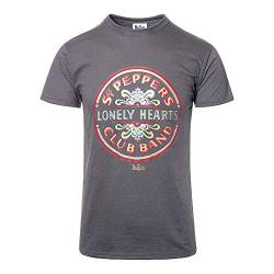 The Beatles SGT Peppers Lonely Hearts Club Band offiziell Männer T-Shirt Herren (Large) von Tee Shack