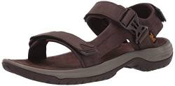 Teva Herren Tanway Leather Sandalen, Braun (Chocolate Brown Cobr), 45.5 EU von Teva