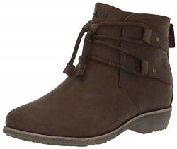 Teva Women's W DE LA Vina DOS Shorty Fashion Boot, Dark Brown, 05 M US von Teva