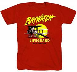 Baywatch rot T-Shirt (S) von Tex-Ha