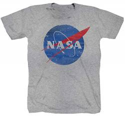 NASA Aeronautik Space Armstrong Mond grau T-Shirt (3XL) von Tex-Ha
