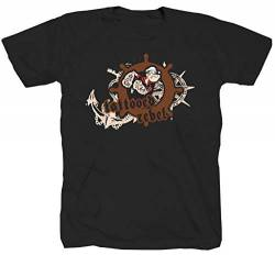 Tattooed Rebel Popeye Sailor schwarz T-Shirt (XL) von Tex-Ha