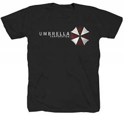 Umbrella Corporation Game Videospiel Sci-Fi schwarz T-Shirt (S) von Tex-Ha