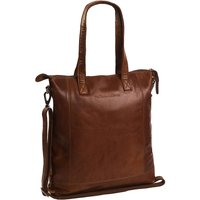 The Chesterfield Brand Darwin Schultertasche Leder 40 cm Laptopfach Handtaschen braun Damen von The Chesterfield Brand