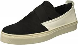 The Flexx Damen LA Cross Turnschuh, Black/White Nubuck/Cashmere, 35.5 EU von The Flexx