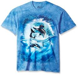 The Mountain T-Shirt Orca Wave L von The Mountain