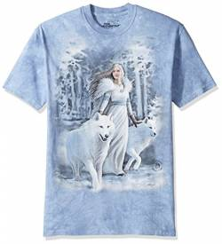 The Mountain Winter Guardians Adult T-Shirt, Grey, XL von The Mountain