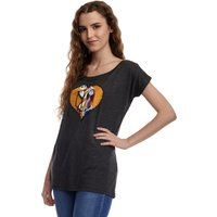 The Nightmare Before Christmas In Love Damen Loose-Shirt von The Nightmare Before Christmas