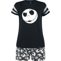 The Nightmare Before Christmas Jack Skellington  Schlafanzug  schwarz von The Nightmare Before Christmas