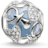 Damen Thomas Sabo Karma Bead Happy Baby Boy Bead Sterling-Silber K0158-843-31 von THOMAS SABO Jewellery