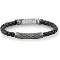 Herren Thomas Sabo Rebel At Heart Armband Sterling-Silber A1407-805-11-L17.5 von Thomas Sabo Jewellery