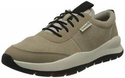 Timberland Herren Boroughs Project Leather Oxford Halbschuhe, Beige Light Beige Suede, 44 EU von Timberland